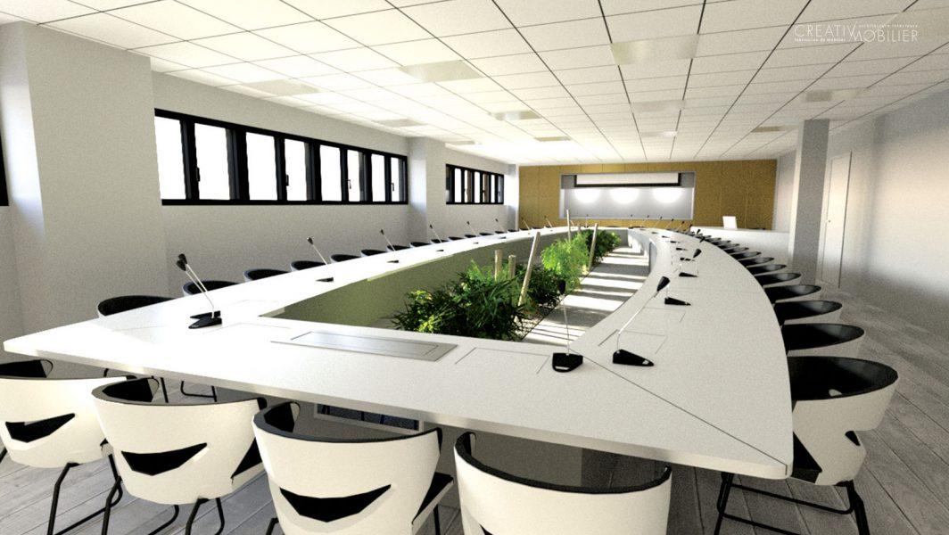 Salle de réunion sur mesure
