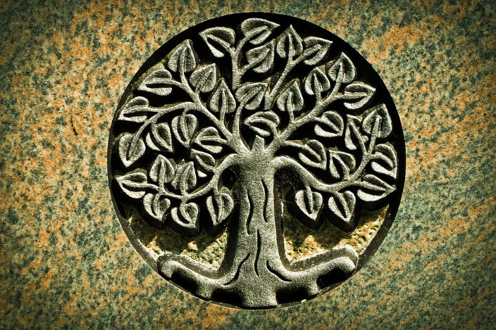 Cadeau pendentif arbre de vie