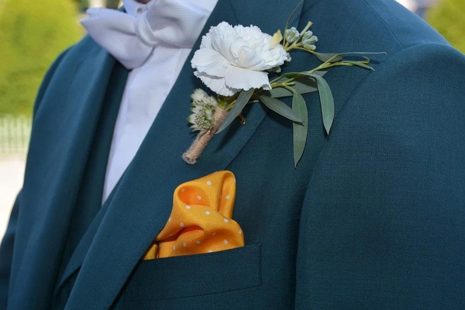 costume de mariage sur mesure